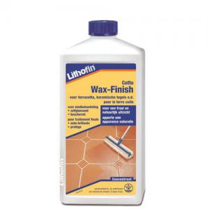 Lithofin Wax-Finish Terra Cotta 1L