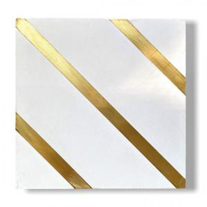 Golden Lines White 20x20x1.2