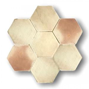 Light Terracotta Hexagone 18x18x1.4